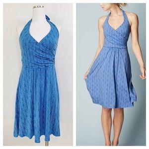 Boden St Lucia Halter Dress Knit